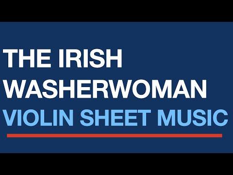 Free easy violin sheet music, The Irish Washerwoman