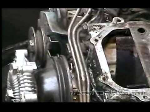 Ajuste De Motor Nissan 2 4 L 2a Parte Quitando La Banda