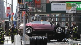 Pedestrians Struck by Car in Times Square