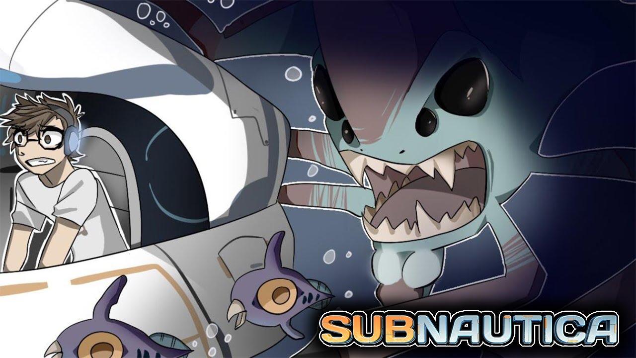 Subnautica is terrifying