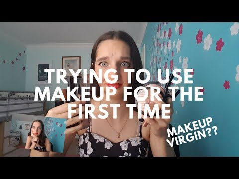 Trying to use makeup for the first time! | Hallee Nicole