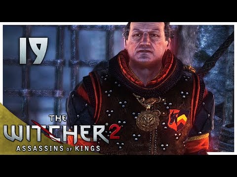 Let's Play The Witcher 2 Blind Part 19 - Rotfiend Contract [Assassins of Kings Enhanced Gameplay]