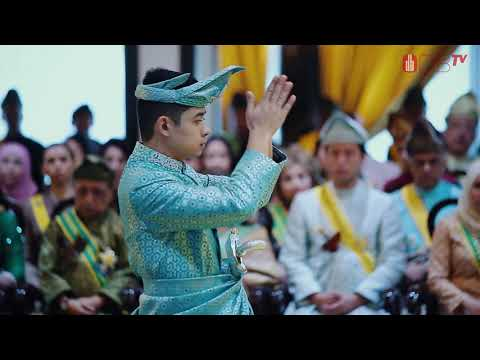 Pemasyhuran Tengku Hassanal Ibrahim Alam Shah Al-Sultan Abdullah