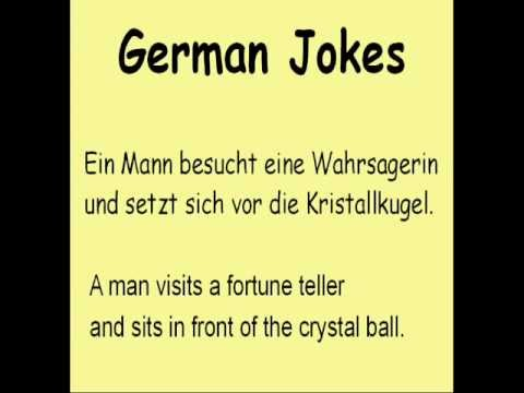 Learn German with Jokes :-)