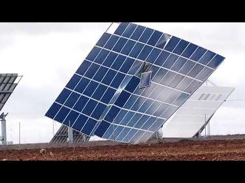 El temporal de viento destroza paneles solares en Valladolid