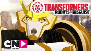 Transformers: Robots in Disguise | History Lesson | Cartoon Network