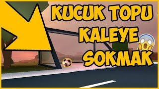 what happens if we put the 😱 LITTLE BALL IN THE GOAL ?? 😱 / Roblox Jailbreak / Roblox English / Melih Brother