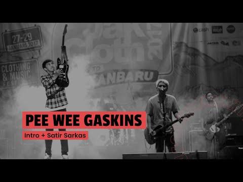 Pee Wee Gaskins - Intro + Satir Sarkas (Live at JakCloth 2017)