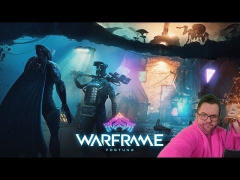 Warframe: New Update |Fortuna First Impressions Stream