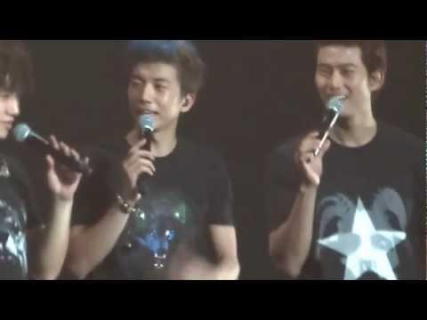 2PM Sang Satu-Satu Aku Sayang Ibu What Time Is It Concert Jakarta 8 Desember 2012