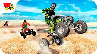 Bike Racing Games - Extreme Stunt Quad Bike Racing - Gameplay Android free games