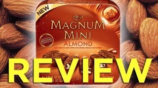 Magnum Minis Almond Ice Cream Bar Video Review: Freezerburns (Ep524)