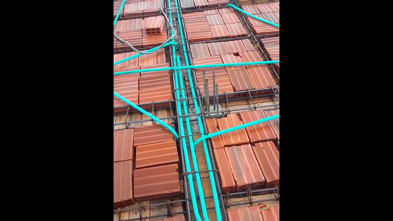 Instalacion electrica con tuberia pvc en tercer piso 20 junio 2016 julian diaz youtube - Tuberia para instalacion electrica ...