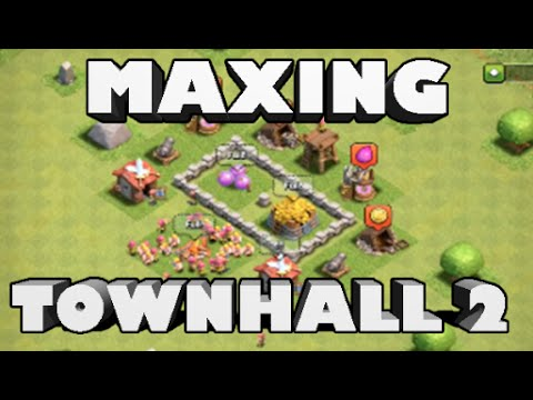 Clash of Clans - Maxing out Town Hall 2 and Best TH2 Defense! (Beginner's Guide)