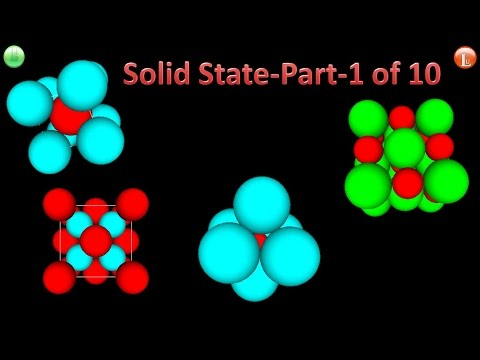 Solid State-Part-1 of 10-Introduction to Unit Cells