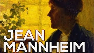 Jean Mannheim: A collection of 167 paintings (HD)