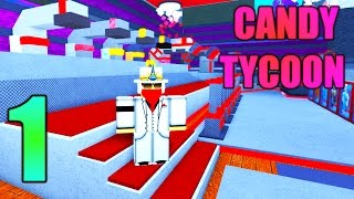 [ROBLOX: Candy Tycoon] - Lets Play w/ FallenFalcon Ep 1 - Candy Fort!