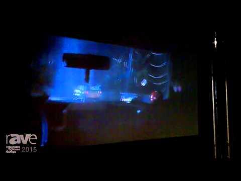 ISE 2015: JVC Showcases the X500R Beamer