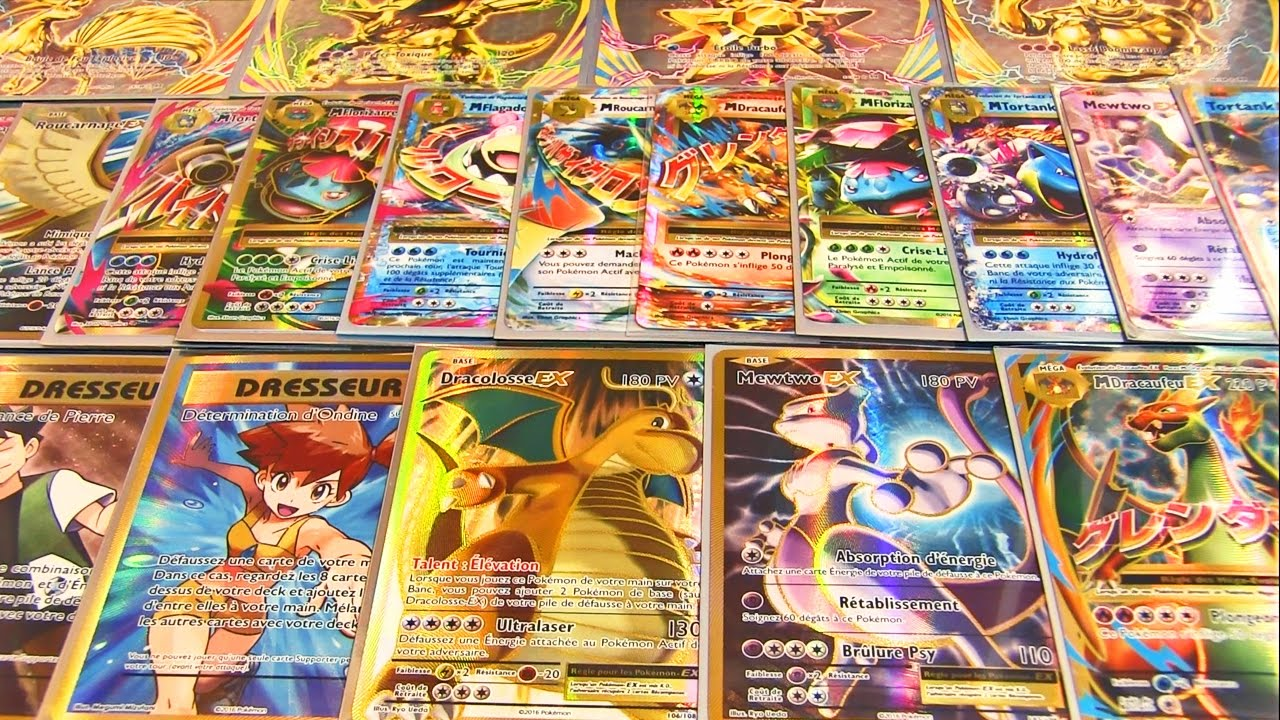 Toutes les cartes pokemon ultra rare de xy12 evolutions set de base youtube - Tout les carte pokemon ex ...