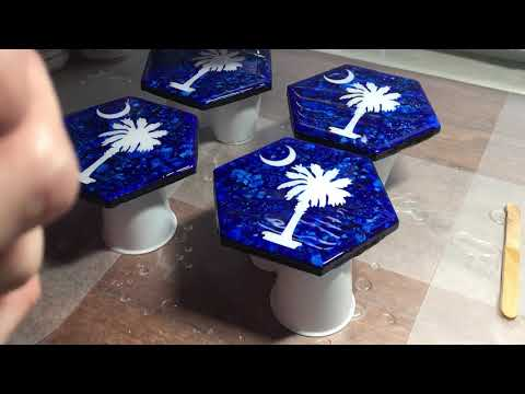 DIY Epoxy Resin Coasters Part 3