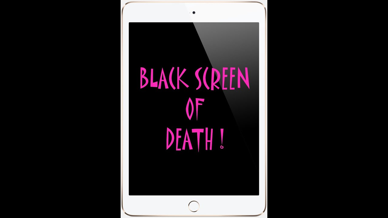 IPAD IPOD BLACK UNRESPONSIVE SCREEN OF DEATH  Gen 1 2 3 4 fix repair guide