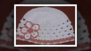 Детские шапки крючком Схемы вязания шапочек