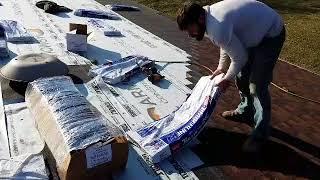 Fastest shingler. World record