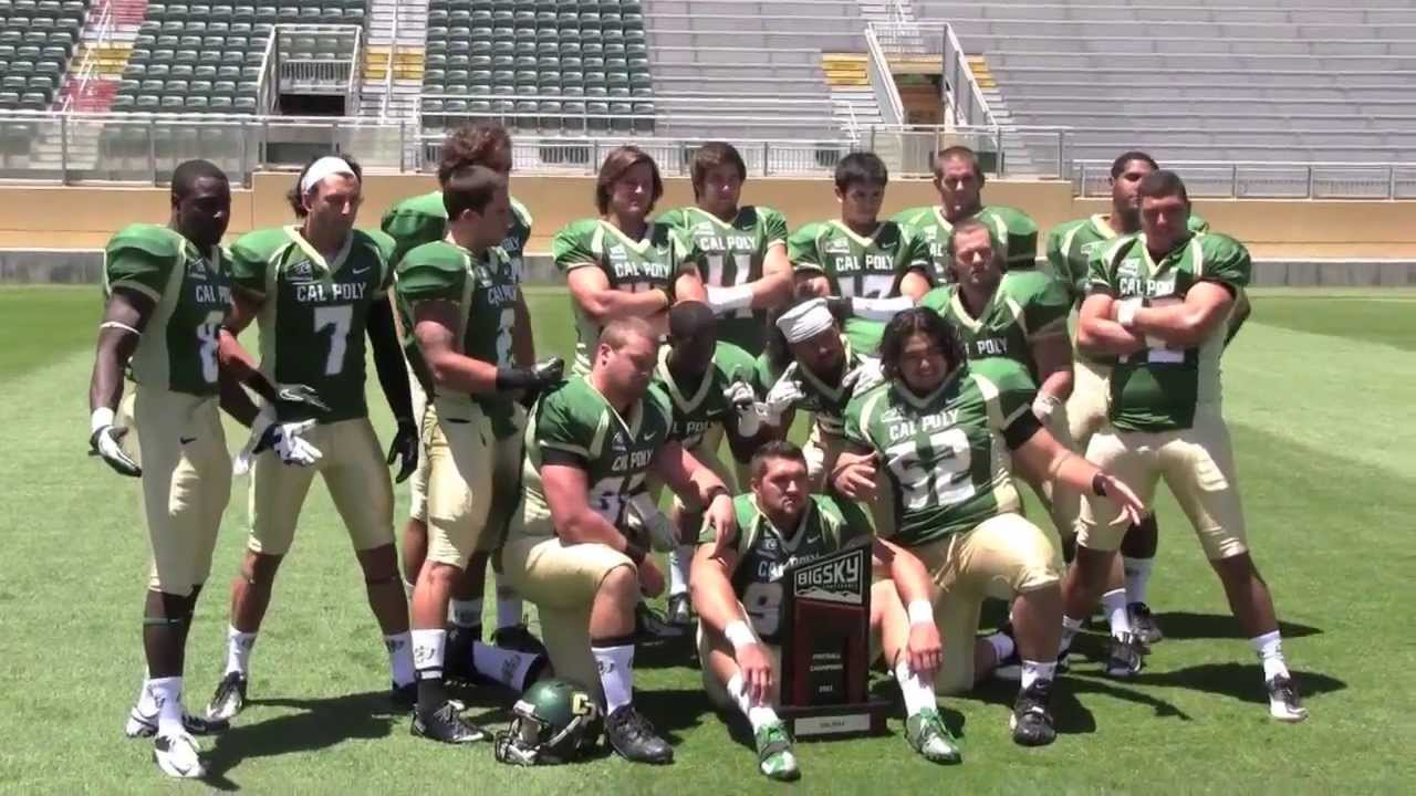 2013 Cal Poly Football Schedule Shoot Youtube