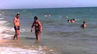 Азовское море.Волны.(, 2013-07-06T07:57:37.000Z)