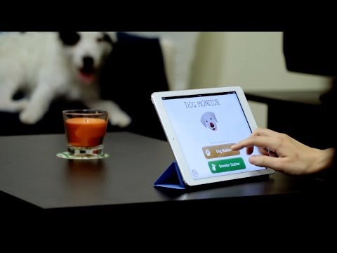 Dog Monitor app for iPhone, iPad, Android and Mac