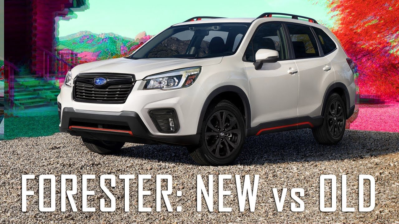 New 2019 Subaru Forester Previous Generation New Vs Old Youtube