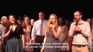 """Lemán Manhattan Surprises Head of School with """"One Day More"""" Flashmob to celebrate his Retirement!"""