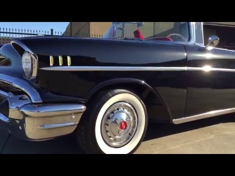 1957 Chevrolet Bel Air Restomod Convertible Walkaround 1