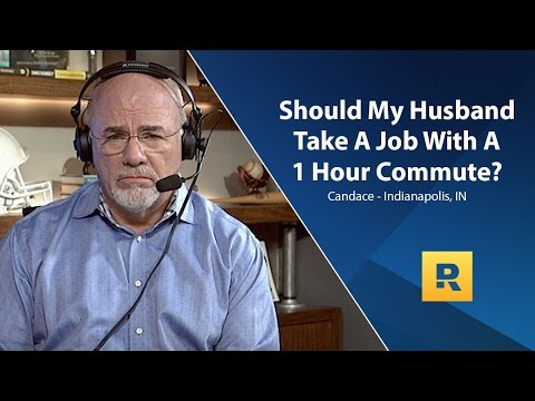 Should My Husband Take A Job With A 1 Hour Commute