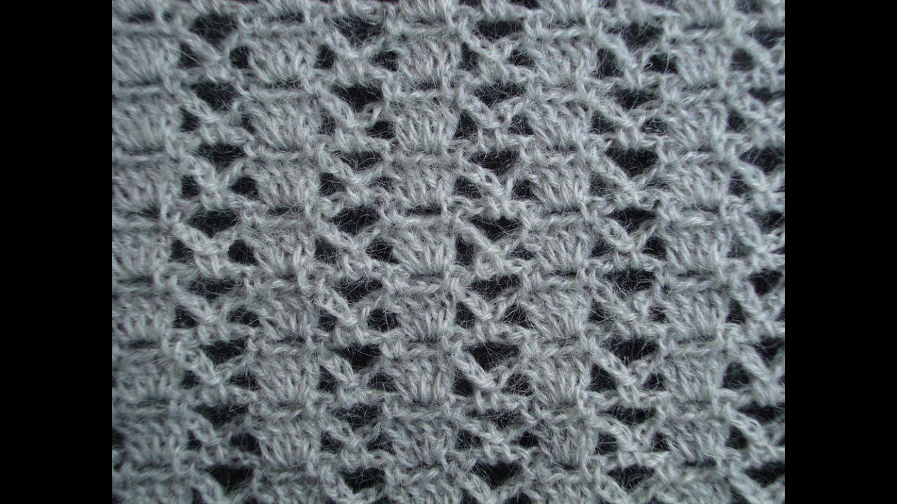 Узор вязания крючком 10 Crochet pattern - ViYoutube: https://viyoutube.com/video/rQ1sYLubXqQ/узор-вязания-крючком-10-crochet-pattern