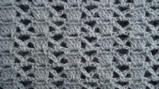 Узор вязания крючком 10 Crochet pattern(Подписаться на все новые видео-уроки по емайл: http://feedburner.google.com/fb/a/mailverify?uri=knittingforbeginners/video ..., 2013-04-01T19:20:02.000Z)