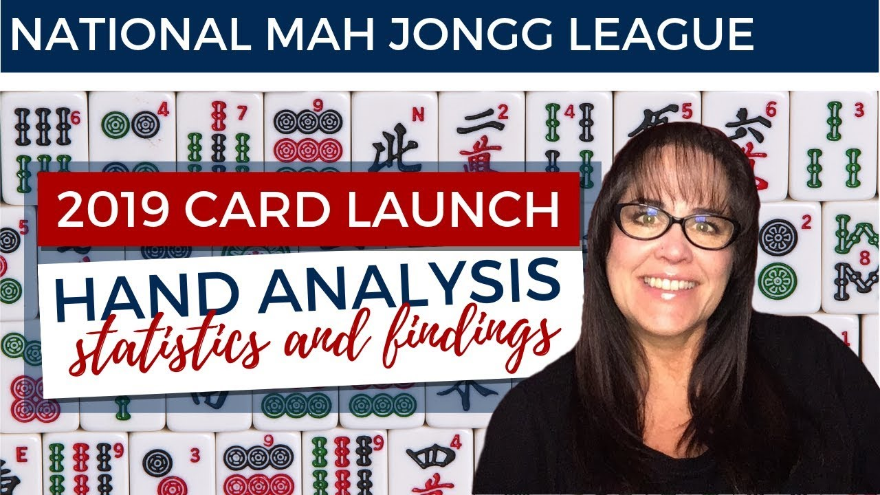 picture regarding Mahjong Card Printable identify Nationwide Mah Jongg League 2019 Card Release Hand Investigate