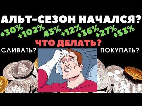Криптовалюта: Альтсезон начался? Биткоин готов