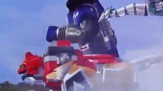Power Ranger La Galaxia Perdida | Primera Transformación en Galaxy Megazord