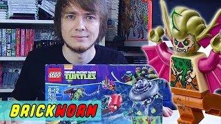 LEGO Черепашки! #8 - T-Rawket Sky Strike (Lego TMNT) - Brickworm