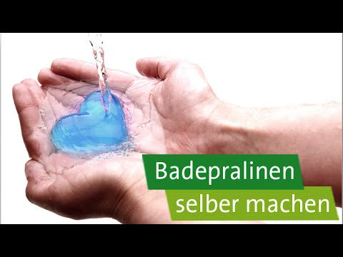 diy geschenke selber machen badepralinen in herzform youtube. Black Bedroom Furniture Sets. Home Design Ideas