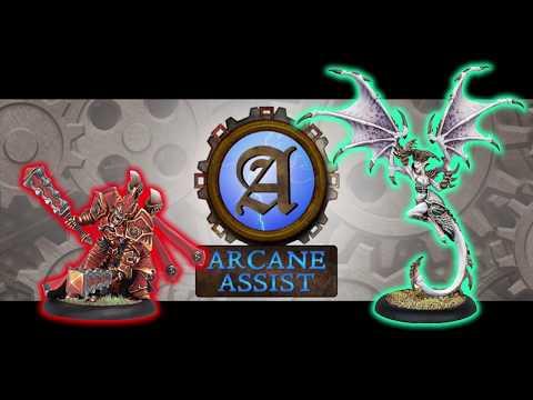 Arcane Assist Batreps: Xerxis1 vs Absylonia2