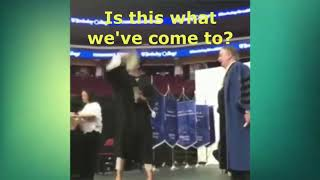 Jesus NO - Woman twerks at her graduation