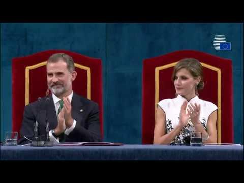 Donald Tusk receives Princess of Asturias Award for Concord on behalf of the EU