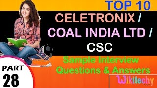 jobs   coal india recruitment   csc india pvt ltd   celetronix   coal india career   csc careers