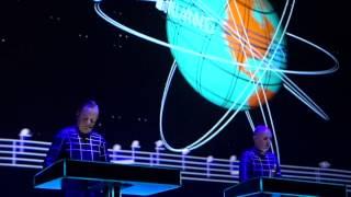 Kraftwerk Kometenmelodie 2. Amsterdam Paradiso 2015