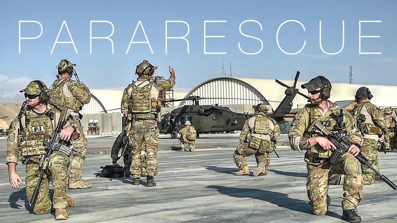 Air Force Pararescuemen Training
