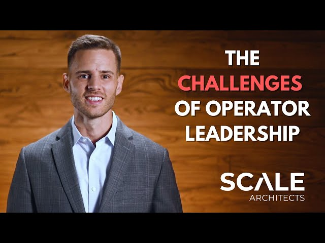 The challenges of leadership Operator