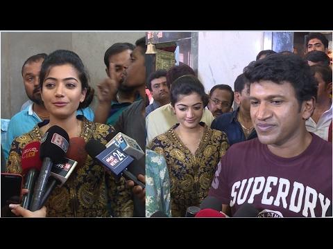 Kirik Party Saanvi Next Film With Punithrajkumar, Anjani Putra