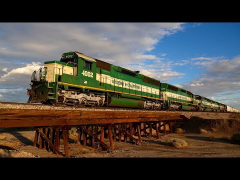 Arizona & California Railroad- 2016 and Early 2017